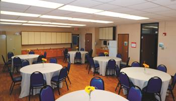 Al Hattendorf Center Rentals, Activity Room