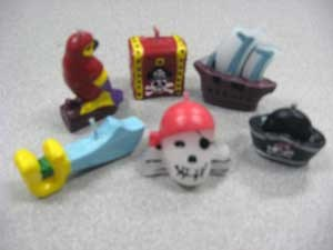 Pirate Candles